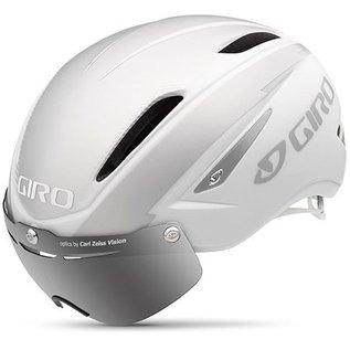 Giro Air Attack Shield - Matte White / Silver
