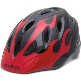 Giro Rascal - Red/Black Flames