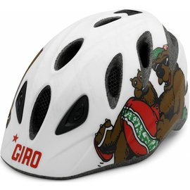 Giro Rascal - Matte White / California Bear