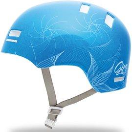 Giro Giro Section - Transparent Blue / Tech Flowers