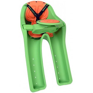 iBert Safe-T Child Seat Front - Green + steering wheel