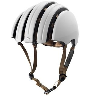 Brooks JB Classic Carrera Foldable Helmet - Ivory