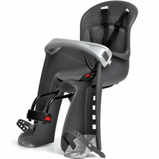 Polisport Bilby Jr Front Seater - Stem Mount - Grey/Silver
