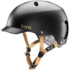 Bern Lenox - Satin Black