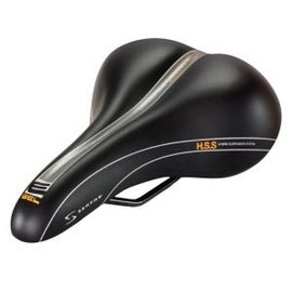 Serfas Men's Reactive Gel Saddle - Vinyl
