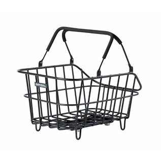 Basil Basil Cento Alu MIK, Rear basket, Matt Black