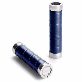 Brooks Slender Grips - Leather Wrap - Royal Blue