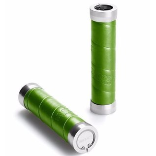 Brooks Slender Grips - Leather Wrap - Apple Green