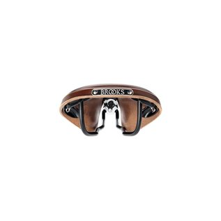 Brooks B17 Narrow Classic - Antique Brown Top - Black Steel
