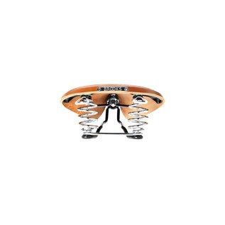 Brooks B67 Mens - Honey - Black and Chrome steel