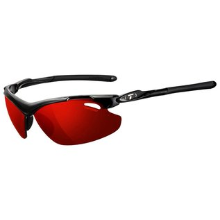 Tifosi Tyrant 2.0 - Gloss Black -  Clarion Red Polarized