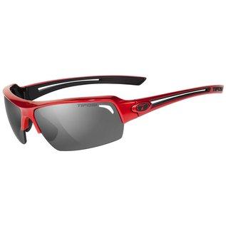 Tifosi Just, Sunglasses, Frame: Metallic Red, Lenses: Polarized Smoke