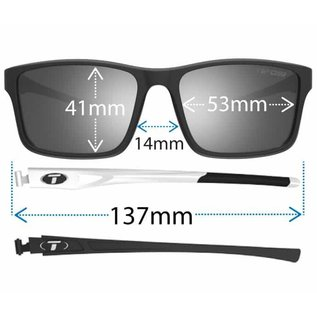 Tifosi Marzen - Gloss Black - Smoke Polarized