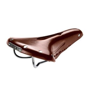 Brooks Team Pro Imperial - Antique Brown - W/ Hole and Laces