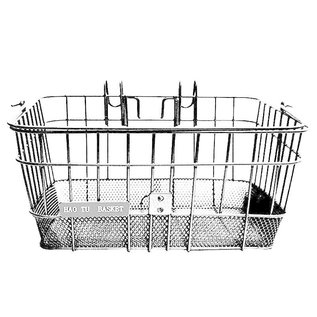 Evo E-Cargo Lift Off DLX  Front Basket -White