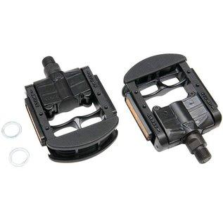 Wellgo Wellgo FP-7 Folding Pedals - Prolite K79 Metal Body - Black