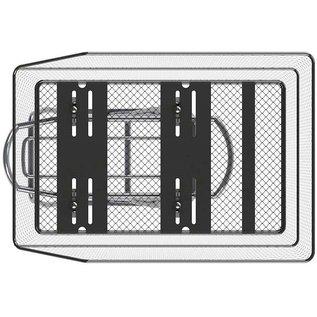 Basil Cento WSL Rear Basket - Black
