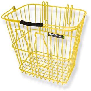 Basil Memories - Bottle Rear Side Basket - Lemon Yellow