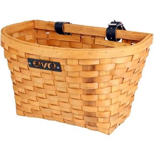 Evo E-Cargo Wood Classic Front basket