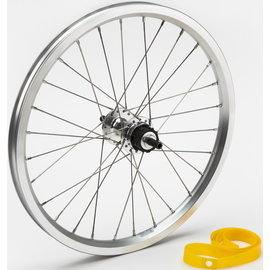 Brompton Brompton 1/2spd Rear Wheel - Silver