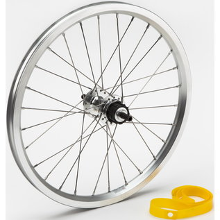 Brompton 1/2spd Rear Wheel - Silver