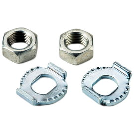 Brompton Axle Nuts & Washers - 3-spd SRAM