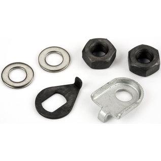 Brompton Axle Nuts & Washers - Front Wheel, Standard