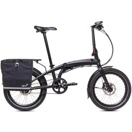 Tern Big Mouth Pannier Bag - Tweed Black
