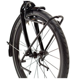 "Tern Spartan Front Rack 20"" - 24"", 100mm OLD - Black"