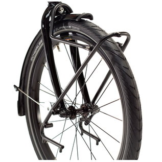 "Tern Tern Spartan Front Rack 20"" - 24"", 100mm OLD - Black"