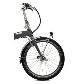 "Tern Spartan Front Rack 20"" - 24"", 74mm OLD - Silver"