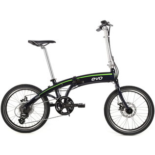 Evo Evo Atwater Folding City eBike, Pro-Movec - Beaming Blue