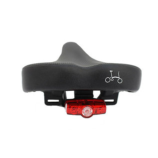 Brompton Rail Saddle - Standard