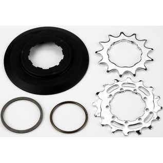 Brompton Sprocket set 13T 16T for 3 32nd inch 9 spline for 6 speed BWR