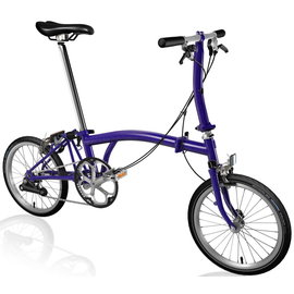 Brompton S2E - Purple Metallic
