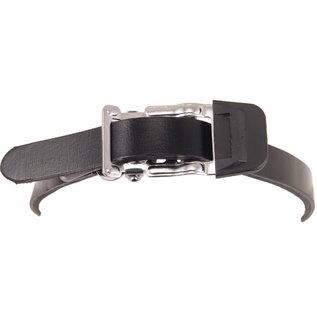 Evo Classic Leather toe-clips straps - Black