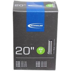 Schwalbe 20x1.5-2.5 Schrader AV7