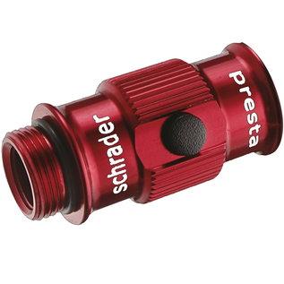 Lezyne Lezyne ABS Flip-Thread Chuck Pump Head HV - Red