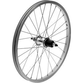 "Dahon Rear Wheel - 20"", Single Wall, Freehub - Silver"