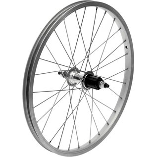 "Dahon Dahon Rear Wheel - 20"", Single Wall, Freehub - Silver"