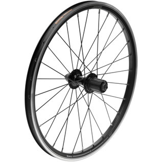 "Kinetix Kinetix Comp Rear Wheel - 20"", Double Wall, Freehub - Black"