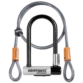 KRYPTONITE Kryptonite MINI-7 w/ 4' FLEX CABLE