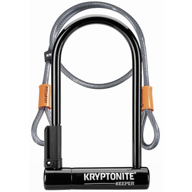 KRYPTONITE Kryptonite KEEPER 12 STD w/4' FLEX CABLE