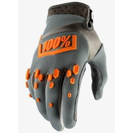100% Airmatic Glove - Grey