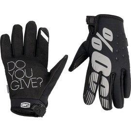 100% 100% Brisker Cold Weather Youth Glove - Black -