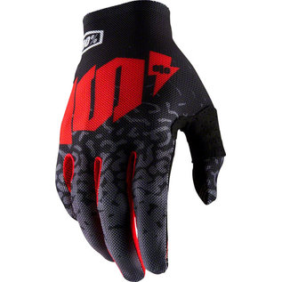 100% 100% Celium 2 Glove - Metal Black