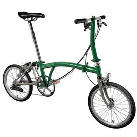 Brompton 2020 Titanium S6E - Racing Green