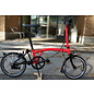 Brompton 2020 Brompton Black Edition Titanium M2L - Rocket Red