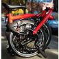 Brompton 2020 Brompton M2L - Black Edition / Rocket Red / Titanium