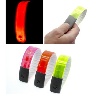 49N 49N 4-LED REFLECTIVE SNAP ON BAND